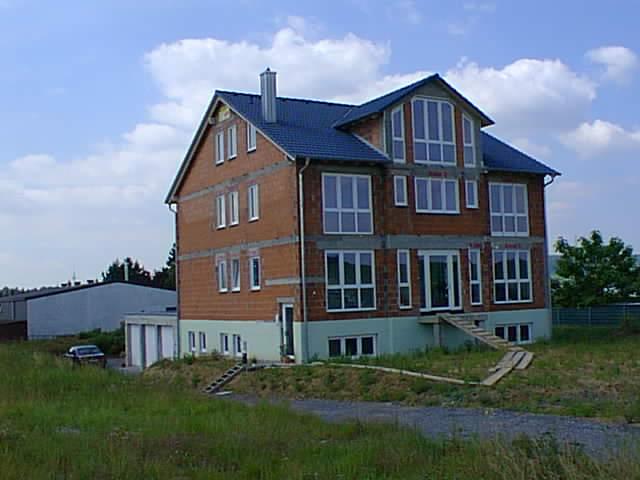 Bau des Firmensitzes in Leingarten